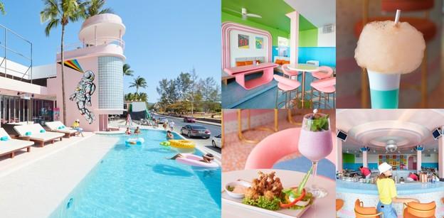 [รีวิว] Zippy Day Club คาเฟ่เปิดใหม่ภูเก็ต สไตล์บีชคลับ สีสัน Colorful