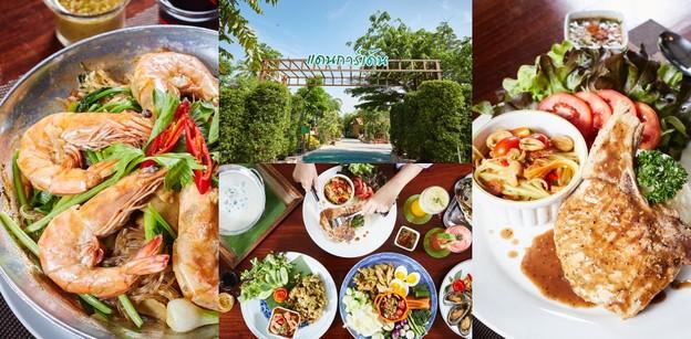 [รีวิว] Dan Garden ร้านอาหารไทยศรีราชา อาหารรสเด็ด บรรยากาศสุดร่มรื่น
