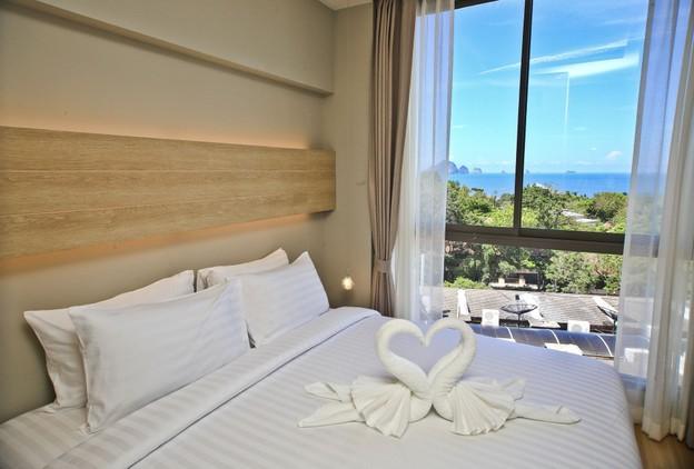 ดีลที่พัก ห้องแบบ One Bedroom Front Seaview จำนวน 1 คืน (ไม่รวมอาหารเช้าสำหรับ 4 ท่าน)
