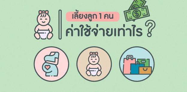 เลี้ยงลูก 1 คนจนโต มีค่าใช้จ่ายเท่าไร ?? #แต่เล็กจนโตโอ้แม่ถนอม