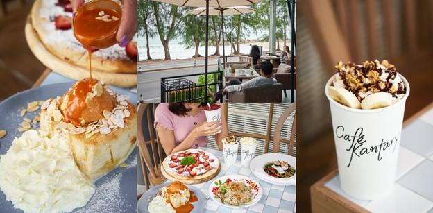 Café Kantary, By The Sea คาเฟ่ระยองน่าเที่ยว บรรยากาศชิล วิวชายทะเล