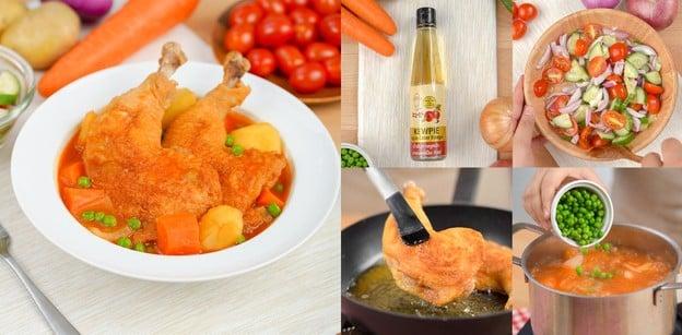 """วิธีทำ """"สตูว์ไก่"""" เมนูอาหารฝรั่งรสเข้มเข้าเนื้อ ทำง่ายเหมือนดีดนิ้ว!"""