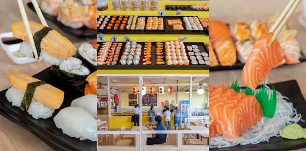 """""""ไข่หวานบ้านซูชิ"""" ร้านอาหารญี่ปุ่นบุรีรัมย์ ซูชิสดใหม่ ใหญ่เต็มคำ"""