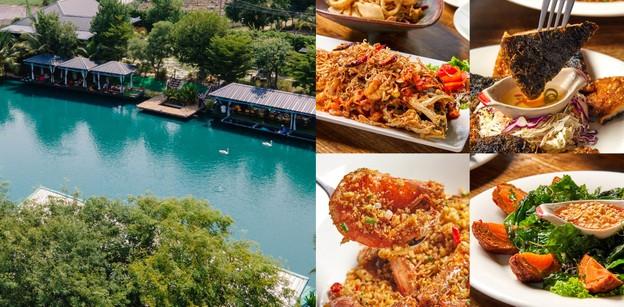 """""""บ้านรักน้ำ"""" ร้านอาหารอ่างทอง ชิม ชิล บนแพริมน้ำ วิมานธรรมชาติ"""