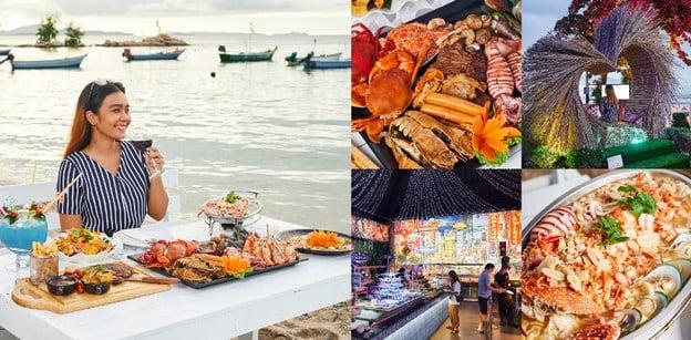 ริมทะเลซีฟู้ด พัทยา ร้านอาหารทะเลบรรยากาศดี ซีฟู้ดสด มุมถ่ายรูปเพียบ!