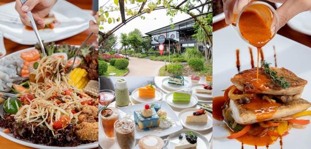 [รีวิว] Phutara Green Park คาเฟ่บุรีรัมย์ อาหารเต็มสิบบรรยากาศเต็มร้อย