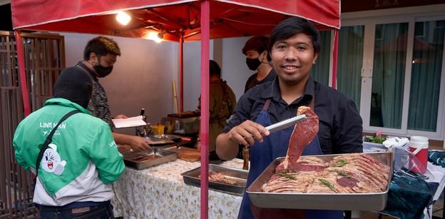[รีวิว] Baanbeef Grilled and Chills เนื้อย่างขายหน้าบ้าน