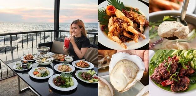 CHARIOT Pub & Restaurant ร้านอาหารน่านั่งบางแสน วิวทะเลสวยบนเขาสามมุข