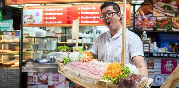 [รีวิว] เล็กหงษ์ ข้าวต้มปลา ยกระดับปลาไทยในรูปแบบซาชิมิ ชุบชีวิตประมง