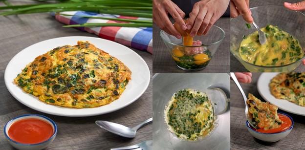"""วิธีทำ """"ไข่เจียวกุยช่าย"""" เมนูไข่ทำง่าย หอมกรุ่นจนกำช้อนแน่น!"""