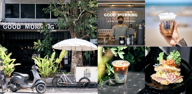 Goodmorning บางแสน ร้านกาแฟและอาหารเช้าริมทะเลที่คนตื่นสายก็ได้กิน