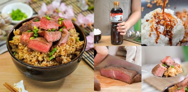 """วิธีทำ """"ข้าวผัดมันเนื้อยากินิขุ"""" เมนูเนื้อหอมกรุ่น เด็ดฟินกินทีตบะแตก"""