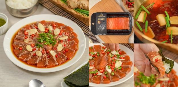 """วิธีทำ """"แซลมอนดองซีอิ๊วเกาหลี"""" เมนูอาหารเกาหลีสุดฮอต หอมนัวแซ่บถึงใจ"""