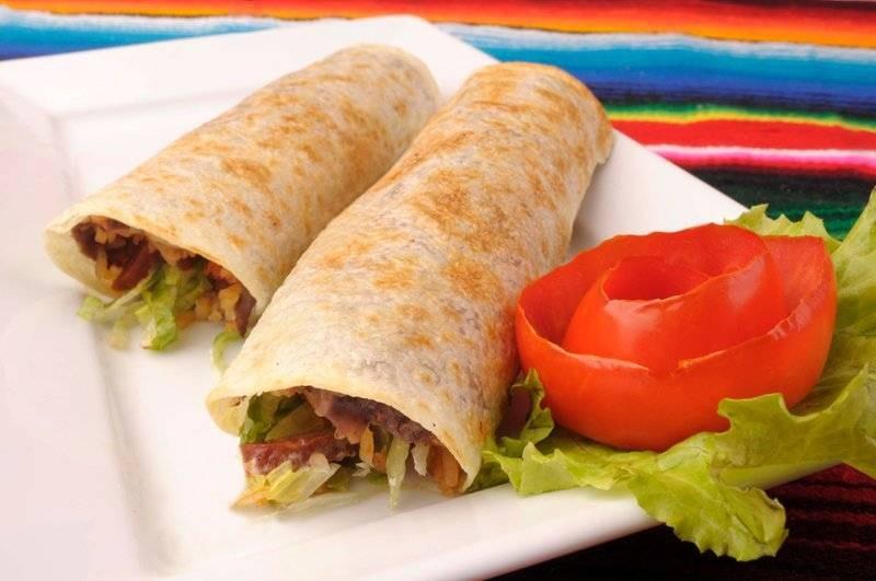 The burritos are superb