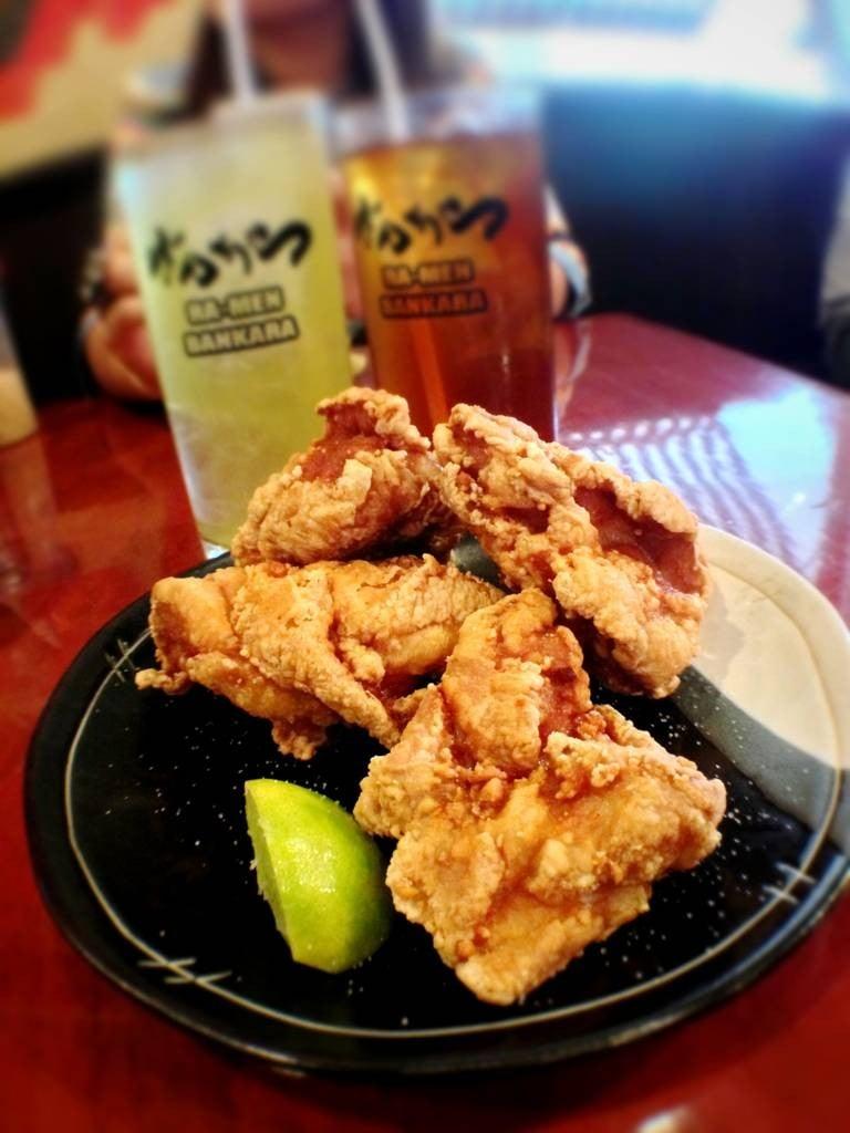 ไก่คาราเกะ กรอบนอก นุ่มใน น้ำมันหยด ชาเขียว,อูล่งใช้ได้