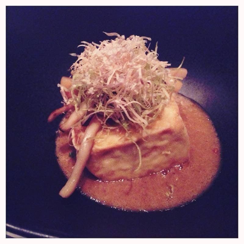 Tofu In Foie Gras Sauce~ Delicious