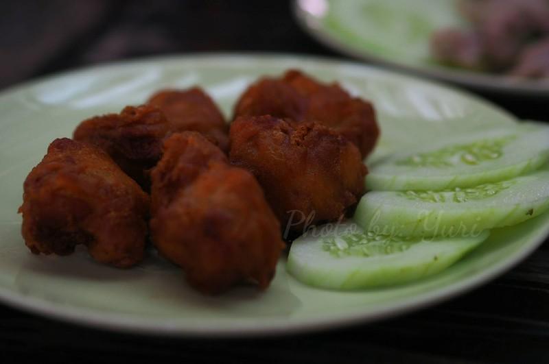 ไก่ทอดคาราเกะ