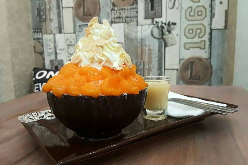 Orange Bingsu