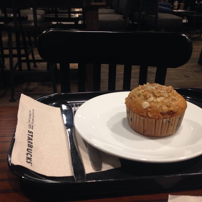 Skinny Blueberry Muffin
