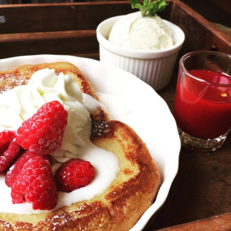 French butter toast