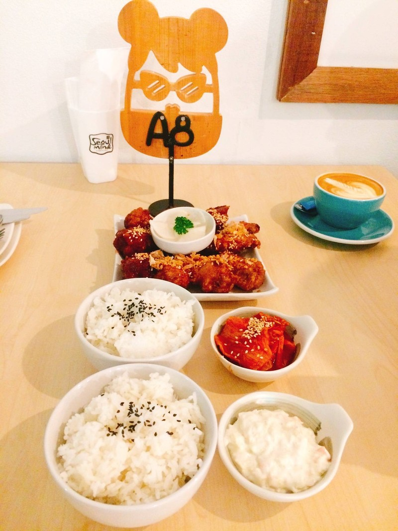 ไก่ทอดซอสเกาหลี