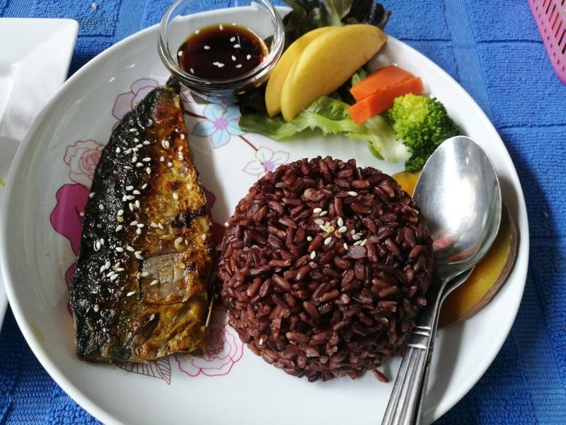 ปลาซาบะซอสญี่ปุ่น