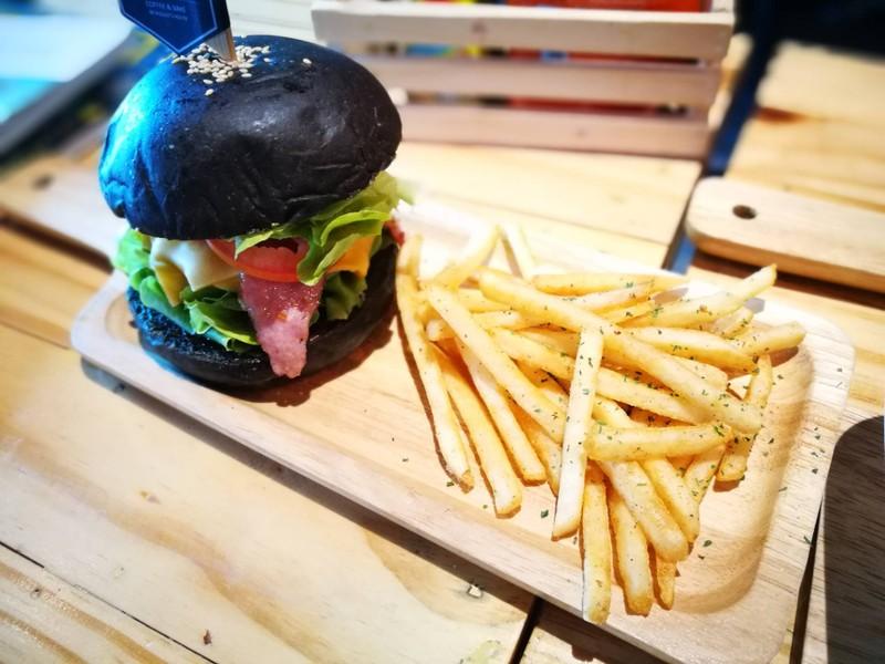 Burger porks