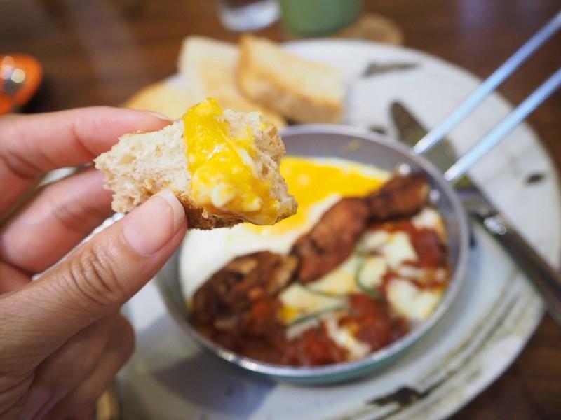 Egg and Chorizo