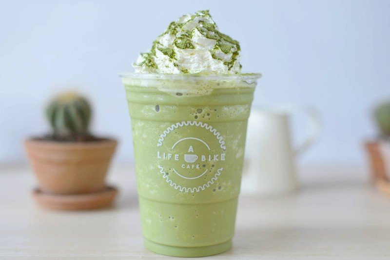 Matcha Greentea Latte Frappe