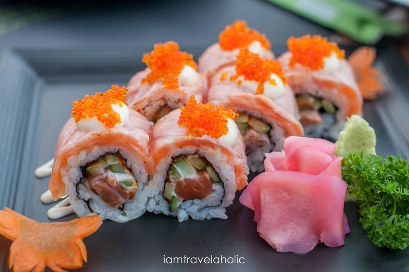 Above Salmon Roll