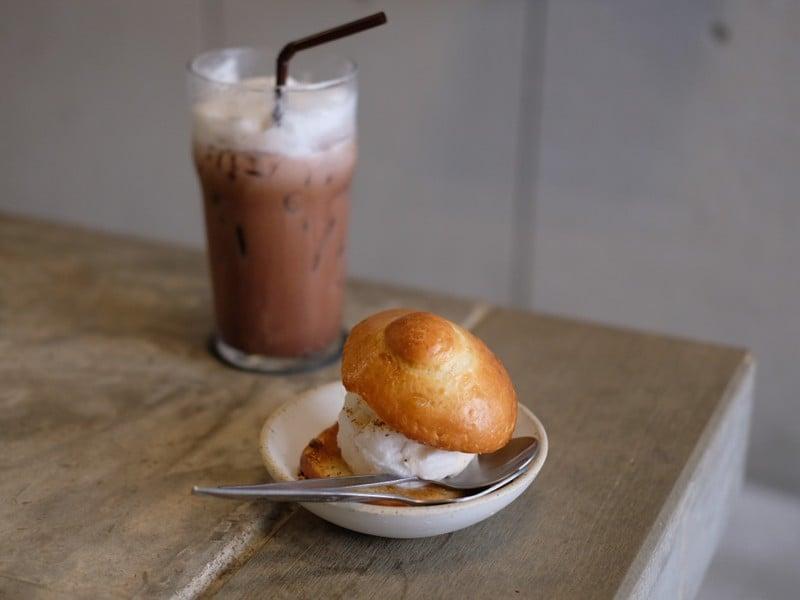 Breast Milk Bread with Ice Cream