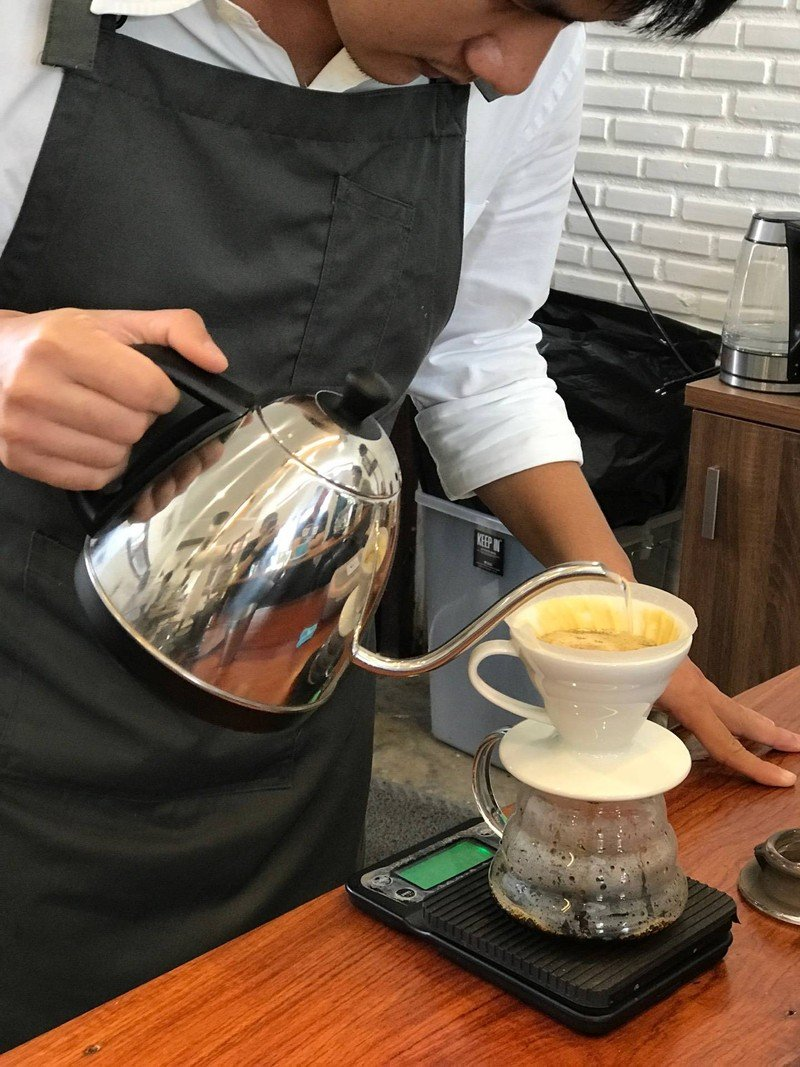 Pour over drip