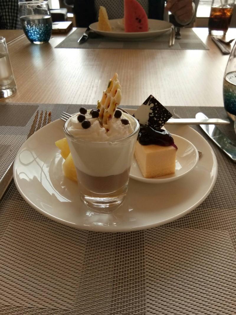 ของหวานอร่อยค่ะมูสเค้กชีสเค้ก