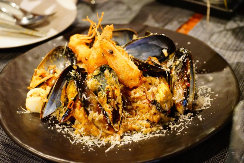 Seafood Risotto Tom-Yum