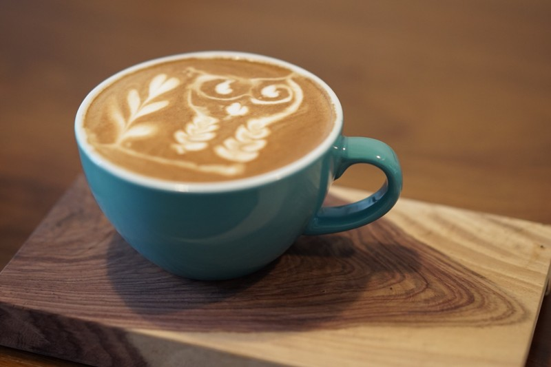 ลาเต้นกฮูก หอมอร่อยกำลังดี คอกาแฟแวะมานครปฐมห้ามพลาด #ตัวแตกแบกเป๋า