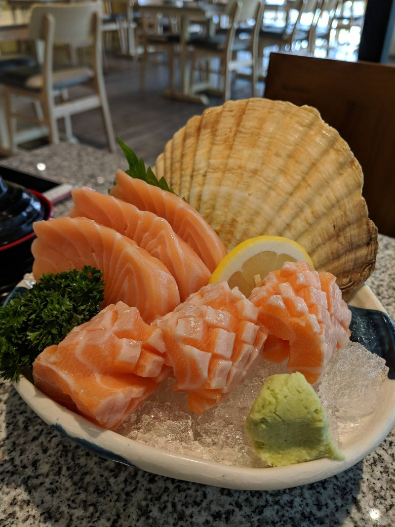 Salmon And Toro Salmon