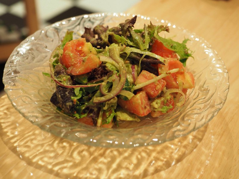 Avocado Salad With Tomato