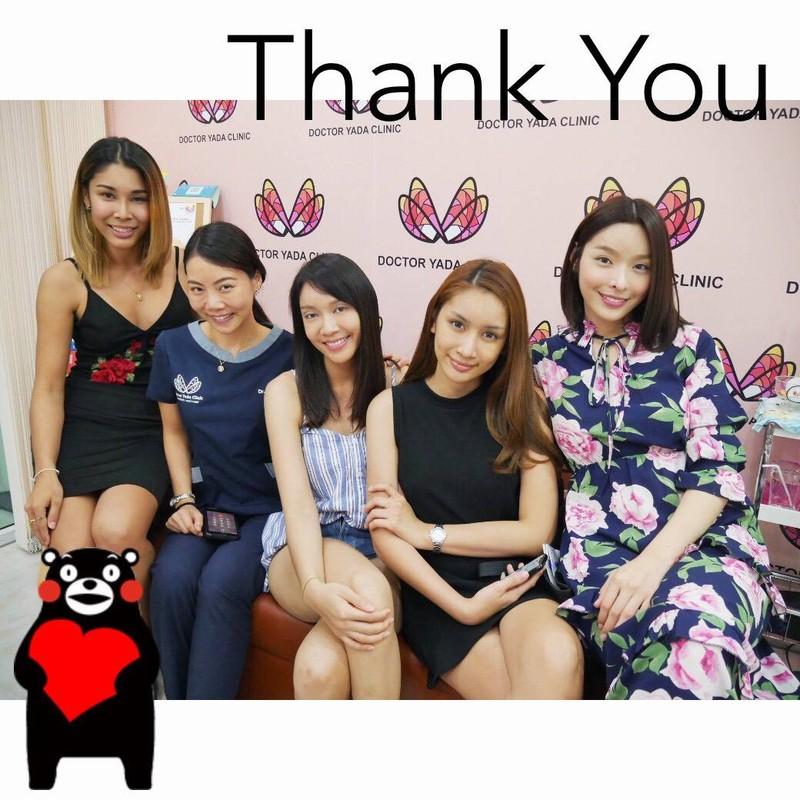 เหล่าคนไข้สาวสวย ของคุณหมอญาดา 😘  Thanks for coming kaa, Love Love ❤️