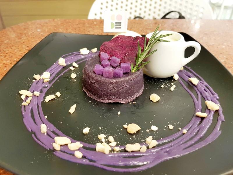 Purple Sweet Potato Lava