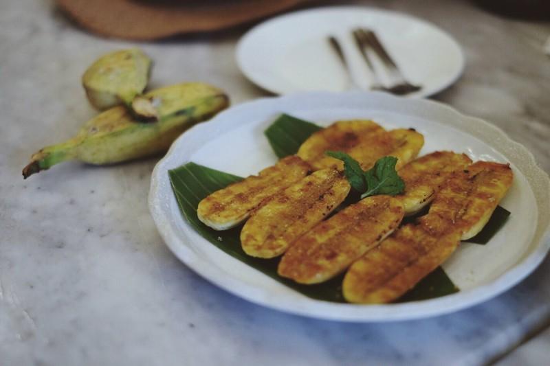 กล้วยหินย่างน้ำผึ้ง