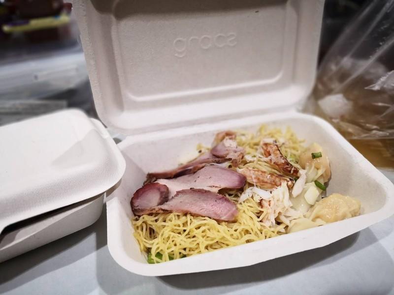 บะหมี่+เกี๊ยวกุ้ง เนื้อปู(แห้ง)##1
