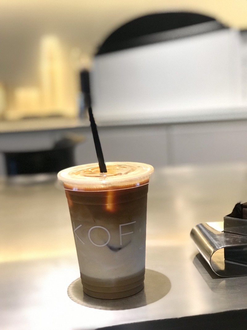 coffee pudding latte