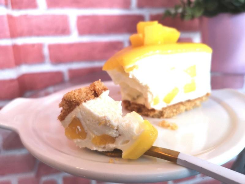 Mango Cheese Pie
