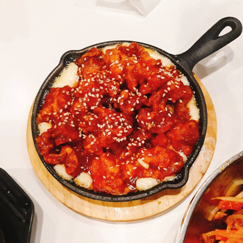 ไก่กรอบชีสเกาหลี