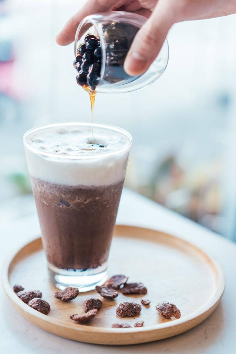 Bubbel Chocolate Tiramisu Frappe