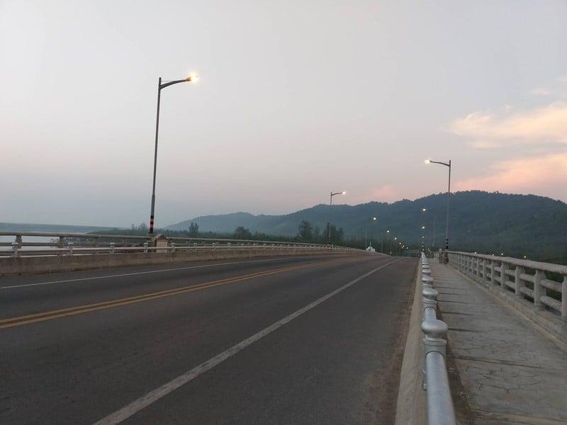 สะพานเชื่อมเกาะแห่งเดียวในประเทศไทย
