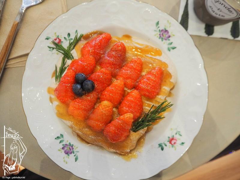 Caramel Berries Toast