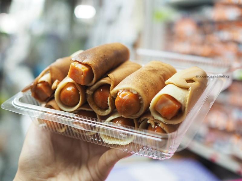 ขนมโตเกียว ไส้ไส้กรอก