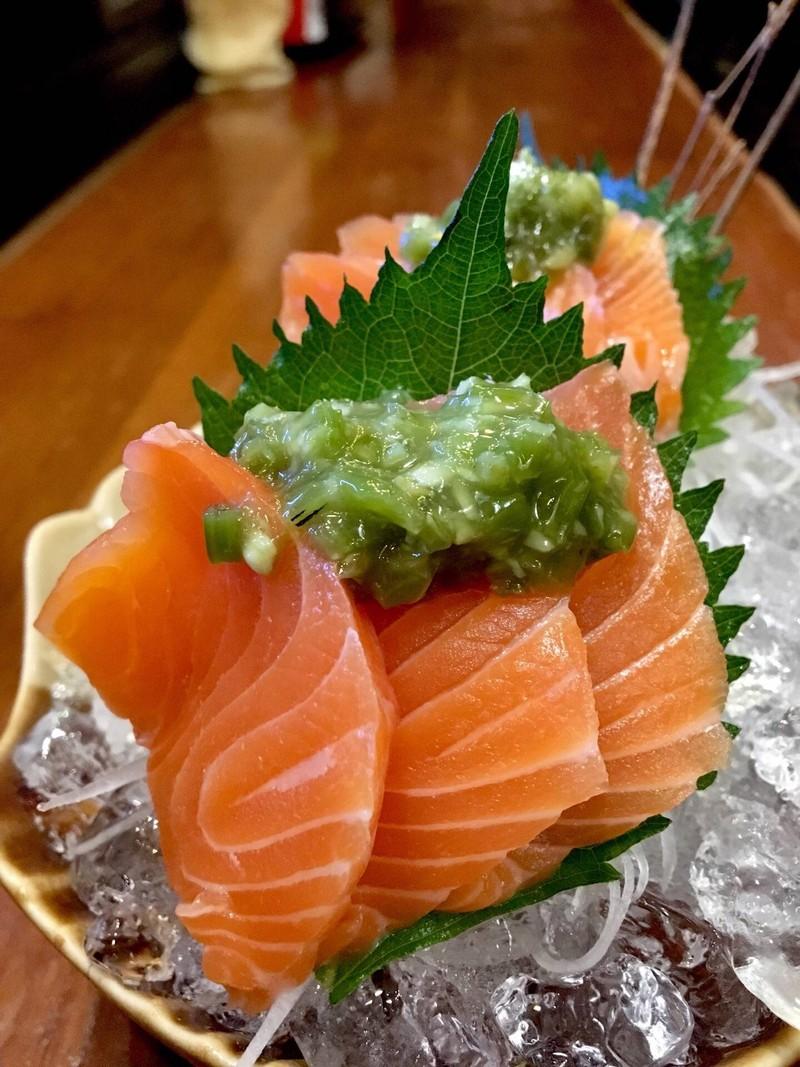 ปลาแซลม่อนวาซาบิ