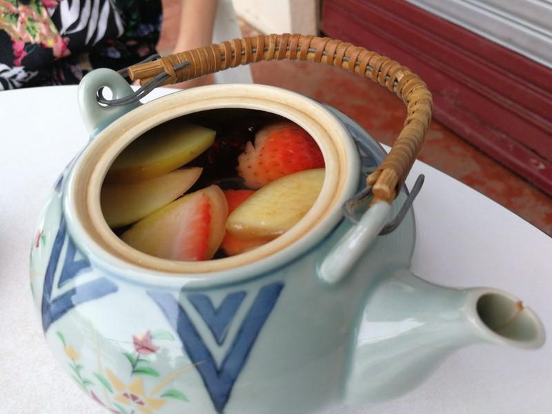 ชาผลไม้ ชาจีน